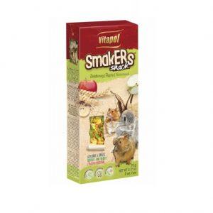 Smakers jabłkowy dla gryzoni i królika 90g/2szt.