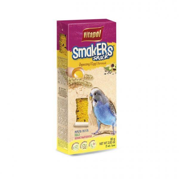 Vitapol Smakers jajeczny dla papugi falistej 80g/2szt.