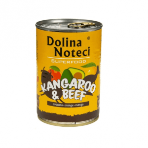 Dolina Noteci Superfood Kangur i Wołowina 400g