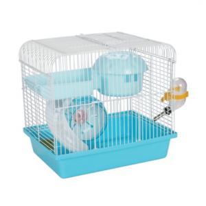 Panama Pet - Klatka z wyposażeniem dla gryzoni 27x20,5x25,5cm niebieska