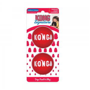 Kong Signature Ball 2 PACK M