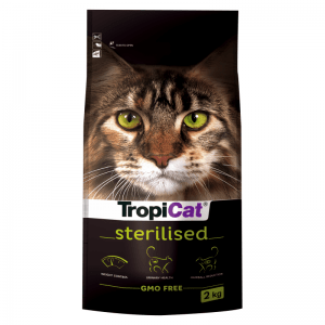 TropiCat Premium Sterilised 2kg