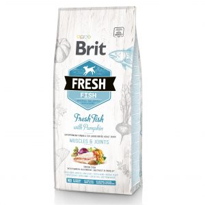 BRIT FRESH Ryba z Dynią Adult Large 12kg