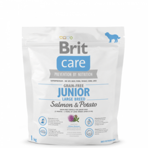 BRIT CARE JUNIOR LARGE BREED Salmon&Potato 1kg