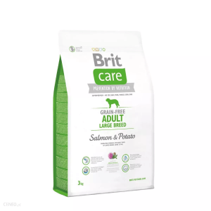 BRIT Care ADULT LARGE Salmon&Potato 3kg