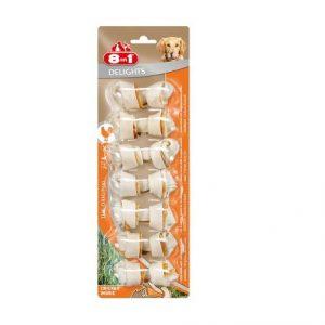 8in1 Delights kość do żucia z kurczakiem 7szt