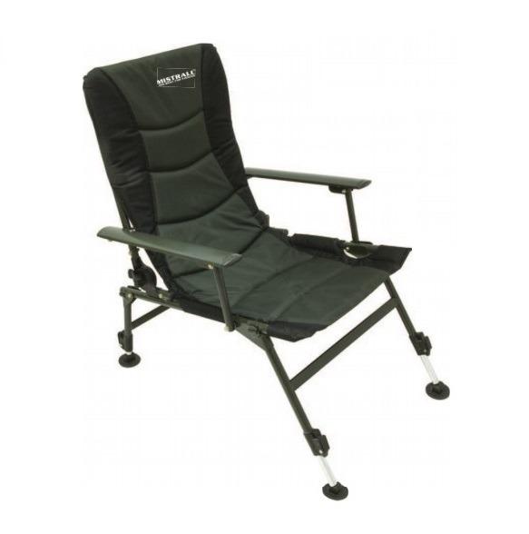 Fotel karpiowy Mistrall 49x66x80/90cm