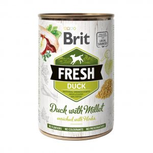 BRIT FRESH DUCK&MILLET 400g