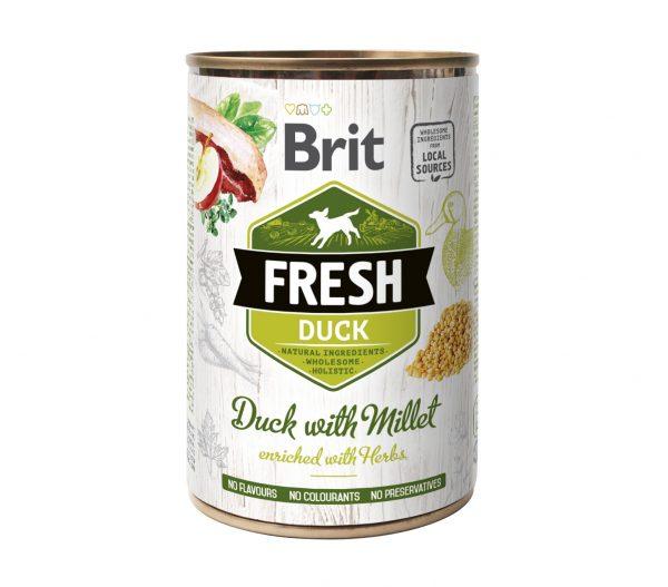 BRIT FRESH DUCK&MILLET 400g