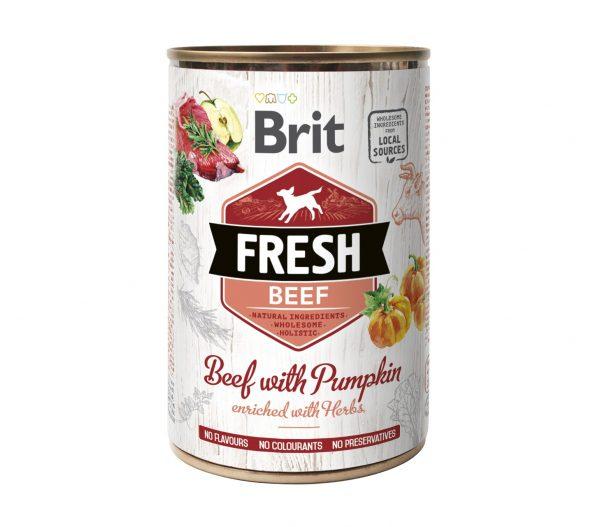BRIT FRESH BEEF&PUMPKIN 400g