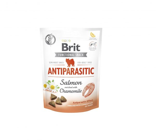 BRIT CARE DOG FUNCTIONAL SNACK ANTIPARASITIC 150G