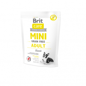 Brit Care Mini Grain Free Adult Lamb 400g