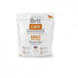 BRIT CARE ADULT LAMB&RICE MEDIUM BREED 1kg