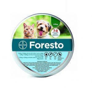 BAYER Foresto Obroża dla kotów i psów poniżej 8kg