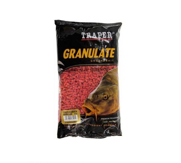 Traper Granulat Truskawka 1kg
