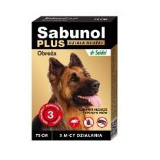 Sabunol Plus Obroża dla psów 75 cm