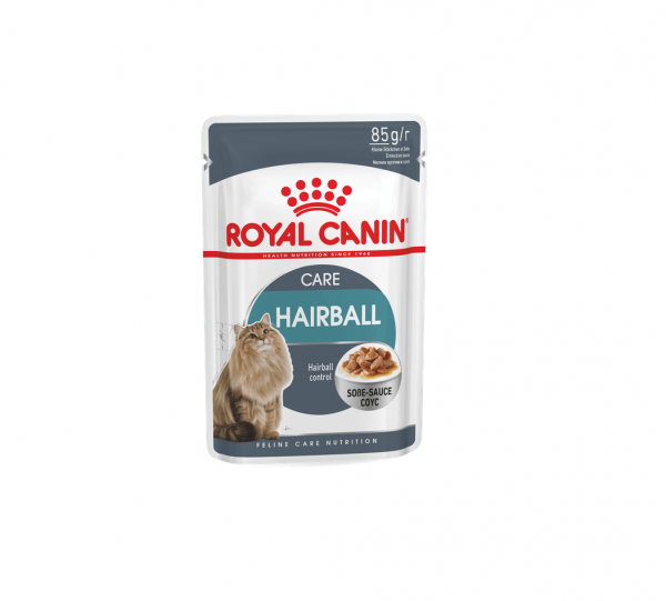 Royal Canin Hairball Care Plasterki w Sosie 85g