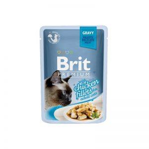Brit Premium filet z kurczaka w sosie 85 g