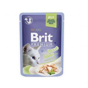 Brit Premium filet z pstrąga w galarecie 85 g