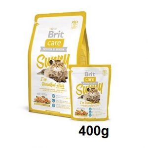 BRIT CARE BRIT CARE CAT SUNNY I'VE BEAUTIFUL HAIR 400g