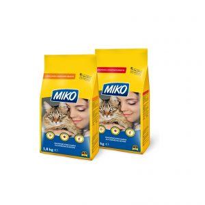 Kares Miko dla dorosłych kotów z kurczakiem i warzywami 1,8kg