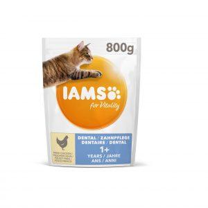 Iams for Vitality Dental z kurczakiem 800g