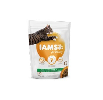 Iams for Vitality Adult z łososiem 800g