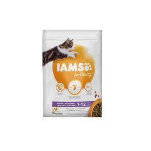 Iams for Vitality Kitten z kurczakiem 800g
