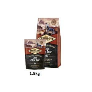 Carnilove Lamb&Wild Boar 1,5 kg