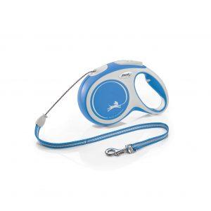 Flexi New Comfort M 8m niebieska