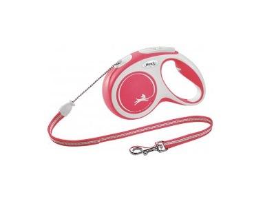 Flexi New Comfort Linka M 5m czerwona